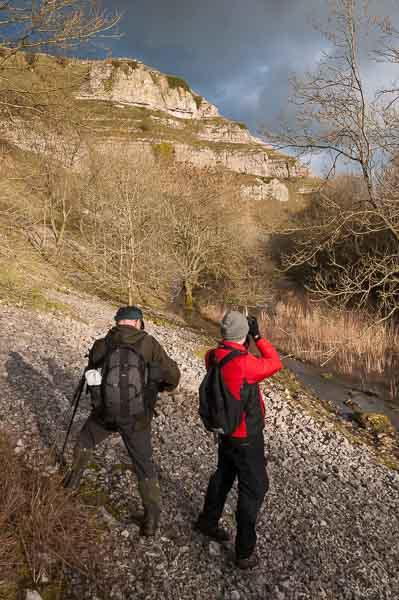 A landscape photography course run by Peak Digital Training in the Derbyshire Peak District. Photo © Chris James