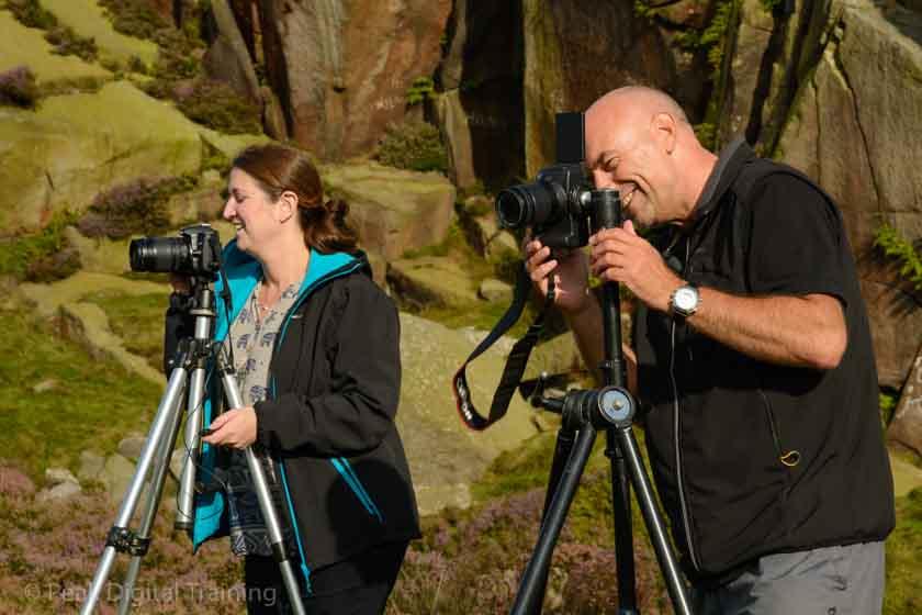 Beginners' photography course near Sheffield © Chris James