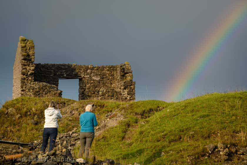 Landscape photography course in the Peak District. Photo © Chris James