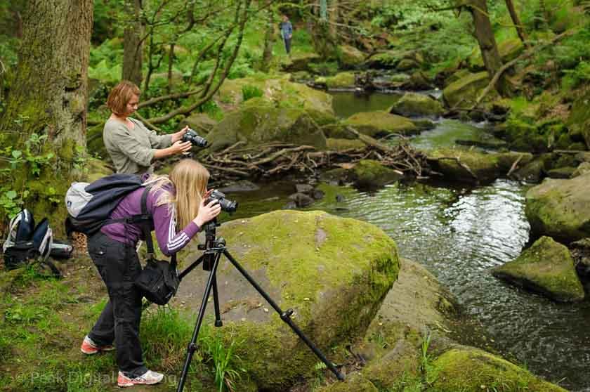 Beginners' photography course near Sheffield. Photo © Chris James