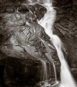 Waterfall in Derbyshire, where Peak Digital Training runs landscape photography courses