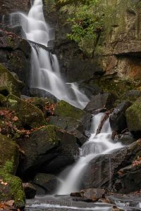 Waterfalls in Derbyshire on a landscape photography course. Photo ç Chris James