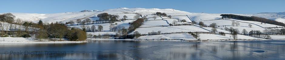 Ladybower Reservoir in the Derbyshire Peak District © Chris James