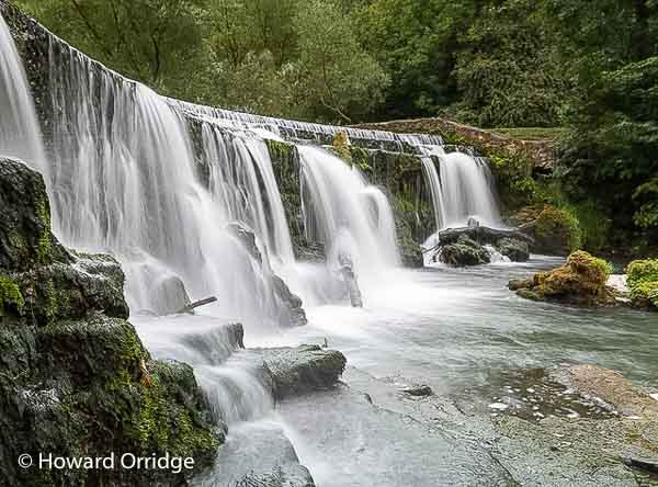 Monsal Weir photographed on a landscape photography course in the Peak District © Howard Orridge