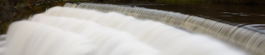 The weir in Monsal Dale, Peak District, where Peak Digital Training is running a beginners' digital photography course. Photo © Chris James