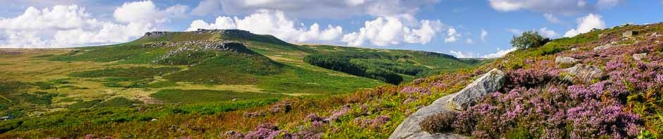 Moorland on the edge of Sheffield, where Peak Digital Training runs photography courses for beginners. Photo © Chris James
