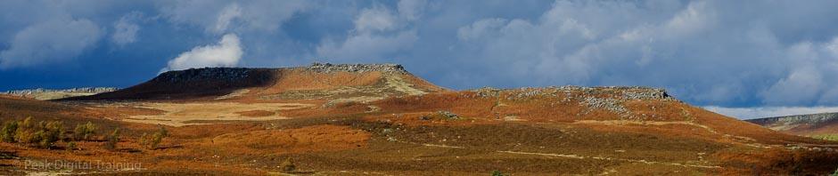 Landscape on the edge of Sheffield © Chris James