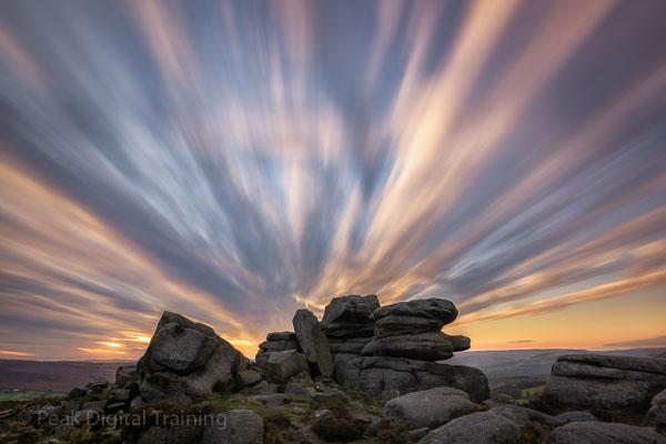 Peak District autumn landscape photography course. Photo © Chris James