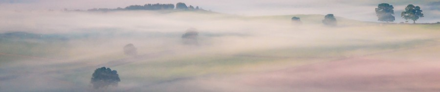 A misty autumn morning - a subject for beginners' photography courses in the Derbyshire Peak District run by Peak Digital Training. Photo © Chris James