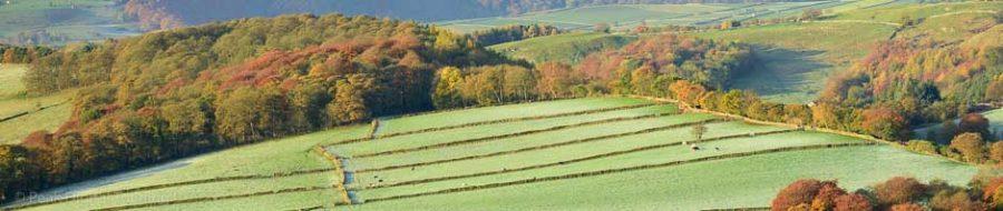 Peak District landscape in autumn. Photo © Chris James