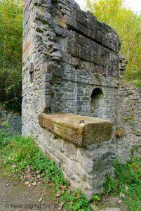 Remains of Mandale Mine engine house on a Peak District landscape photography course by Peak Digital Training. Photo © Chris James