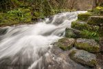 Moving water on a landscape photography course in the Peak District. Photo © Chris James