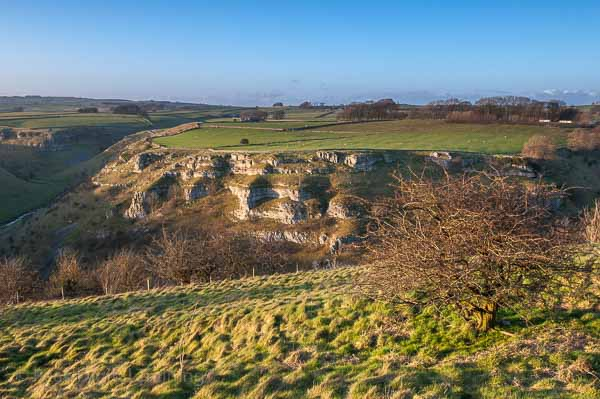 Peak District landscape photography course in Lathkill Dale. Photo © Chris James