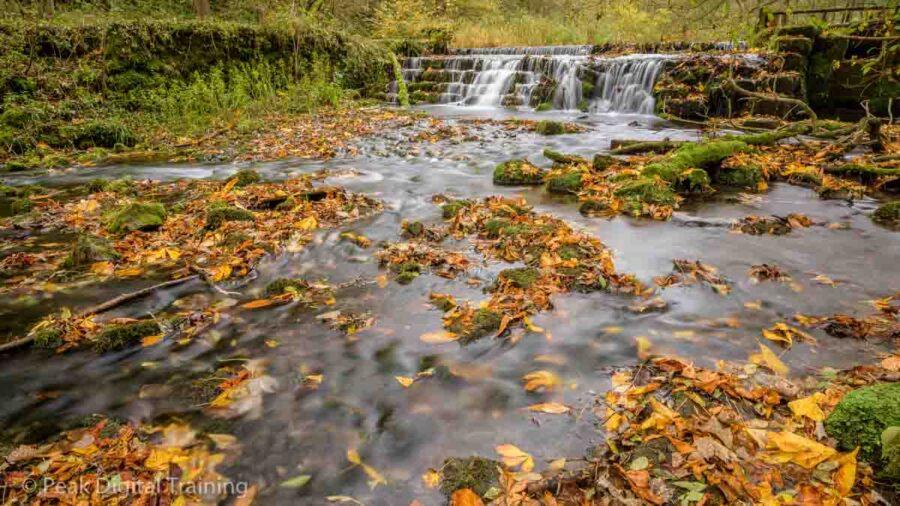 Peak District landscape photography course in Lathkill Dale © Chris James