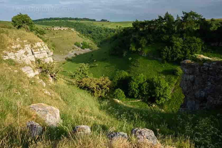 Peak District landscape photography courses in Lathkill Dale. Photo © Chris James