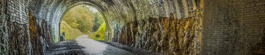 Disused railway tunnel in the Peak District - one of the subjects available on a beginners' digital photography course being run by Peak Digital Training. Photo © Chris James