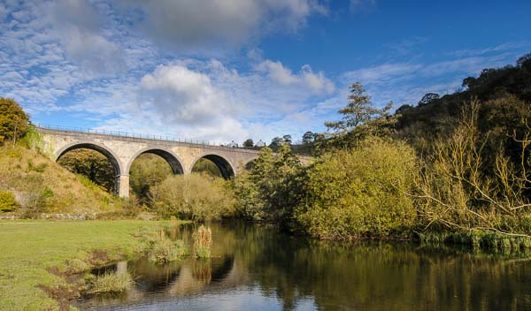 Monsal Viaduct in Derbyshire is a superb location for the beginners photography course being run by Peak Digital Training