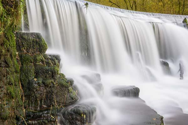 Photograph moving water on a Peak District landscape photography course. Photo © Chris James