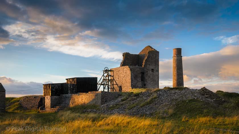 Peak District photography training. Photo © Chris James