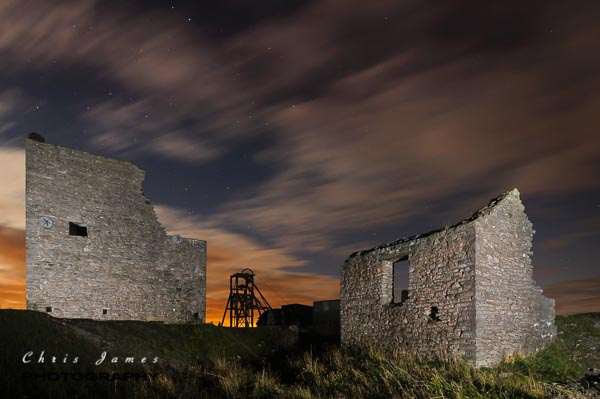 Sunset & night photography course in the Peak District. Photo © Chris James