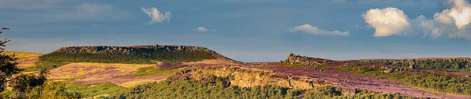 Millstone Edge and Higger Tor. Peak District landscape photography courses by Peak Digital Training. Photo © Chris James