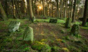 Peak District stone circle. Photo © Chris James