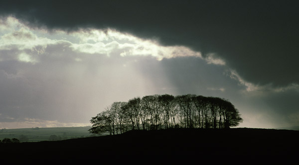 A photograph of a skyline in the Derbyshire White Peak, where Peak Digital Training holds landscape photography training workshops