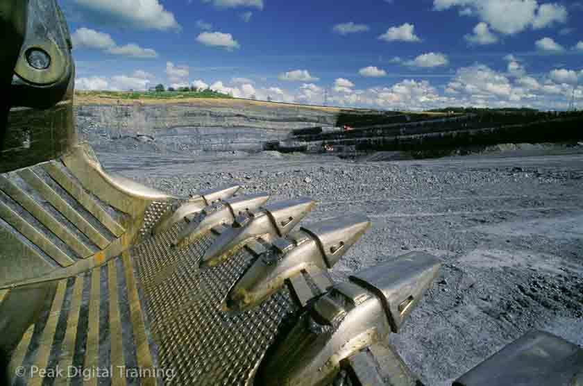 Opencast coal mine, Derbyshire © Chris James