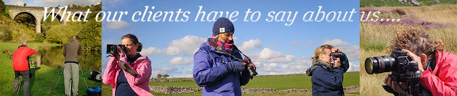 What clients have to say about Peak Digital Training's photography courses. Photos © Chris James