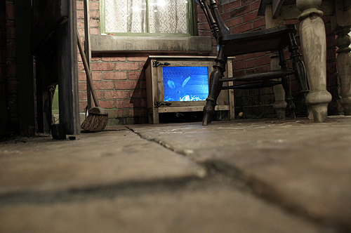 electronic rabbit hutch yorkshire mining museum
