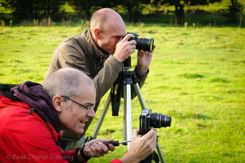 Beginners' photography course in Derbyshire