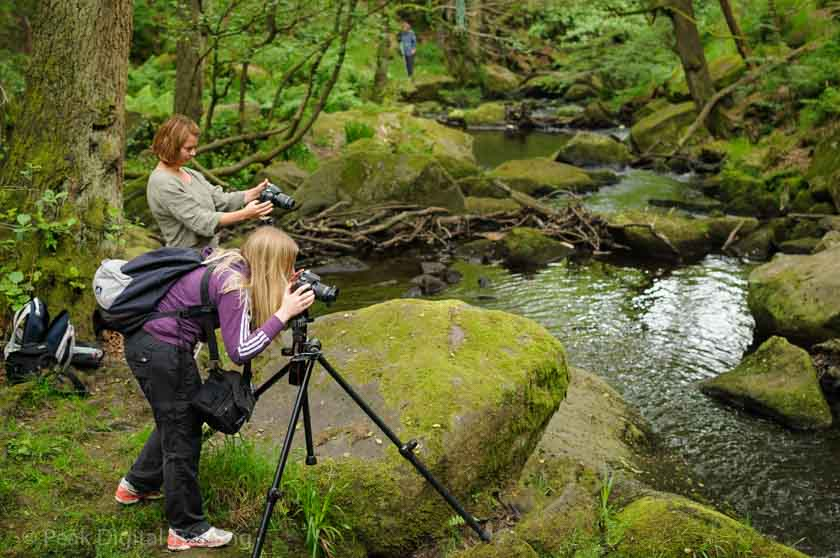 Beginners' photography course near Sheffield