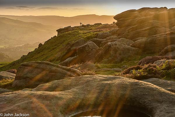 Peak District autumn landscape photography course near Sheffield