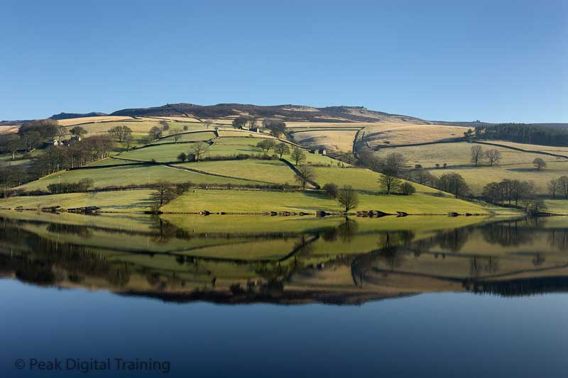 One to one photography training courses in the Peak District, Derbyshire and East Midlands by Peak Digital Training. Photo © Chris James